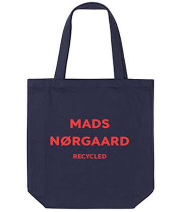 Mads Nørgaard Athene net/bag - Recycled navy/red