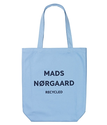 Mads Nørgaard Athene net/bag - Recycled soft sky/navy